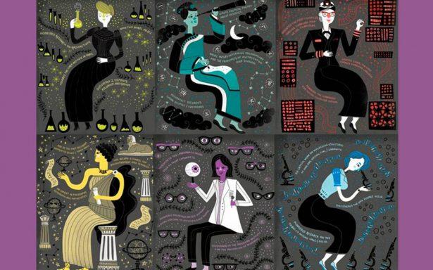 Historias ilustres e ilustradas… ellas son las mujeres en la ciencia