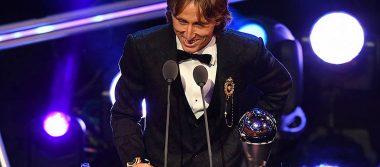 ¡Adiós Cristiano y Messi! Modric se lleva The Best al Mejor Jugador de la FIFA