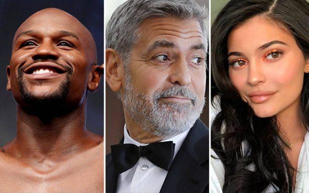Mayweather, Clooney y Jenner encabezan lista de ¡las celebridades con más millones!