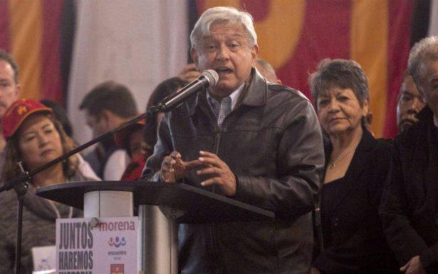 Peña Nieto está nervioso porque su candidato no levanta: AMLO