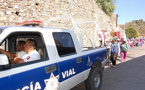 Protegen a peregrinos rumbo a San Juan de los Lagos