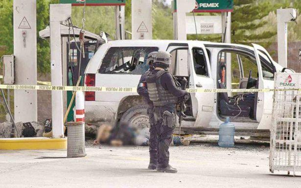 Balaceras dejan 8 muertos en Reynosa