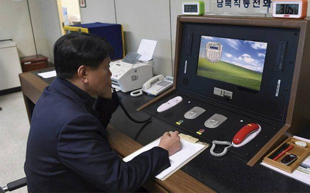 Corea del Norte y Corea del Sur reactivan el teléfono rojo