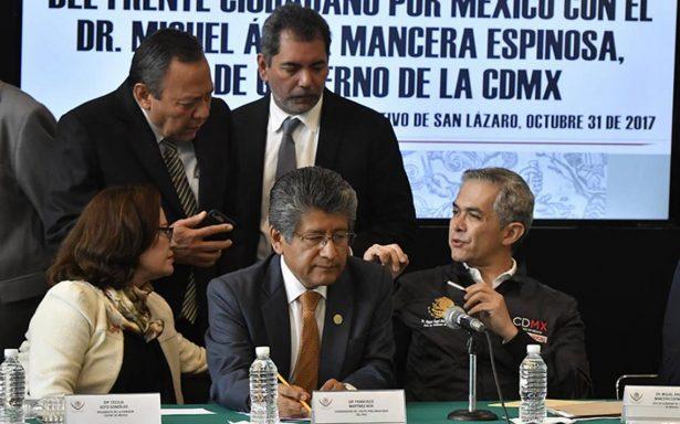 Frente Ciudadano apoya creación de fondo nacional para atender desastres