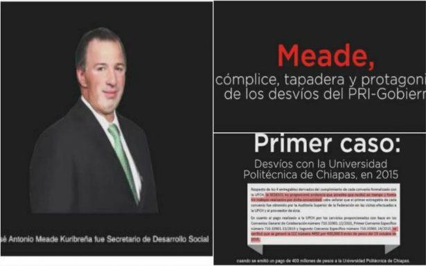 PAN revira al PRI con spot contra Meade