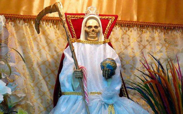 Aumento de seguidores de la Santa Muerte, por rechazos de la Iglesia