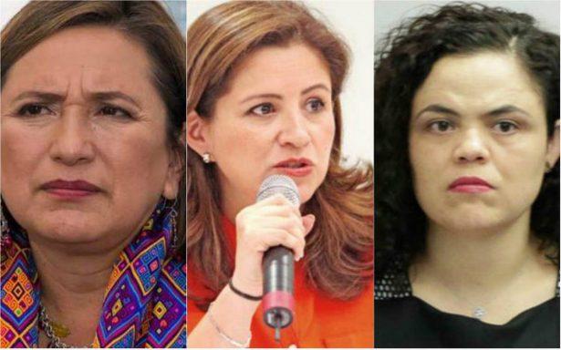 Xochitl Galvez Martha Tagle Martinez y Mariana Gomez del Campo se suman a la campaña de Barrales