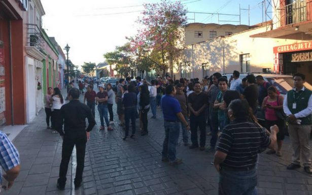 Sismo deja daños menores en Oaxaca