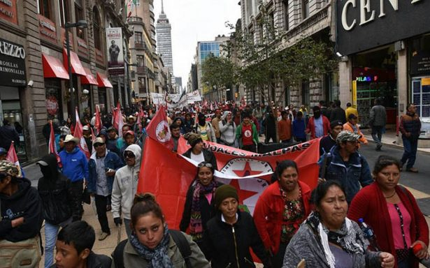 Habrá tránsito vial complicado en la CDMX por 10 manifestaciones