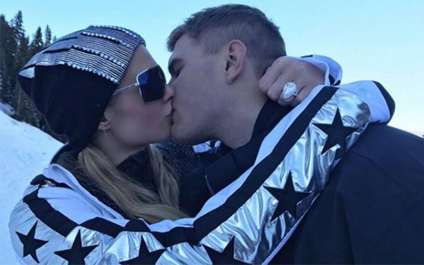 Paris Hilton se compromete con el actor Chris Zylka