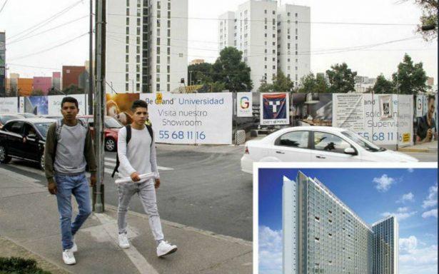 Juez federal ordena suspender construcción de torres en Copilco