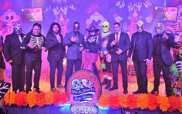 Funciones de Día de Muertos en la Arena México