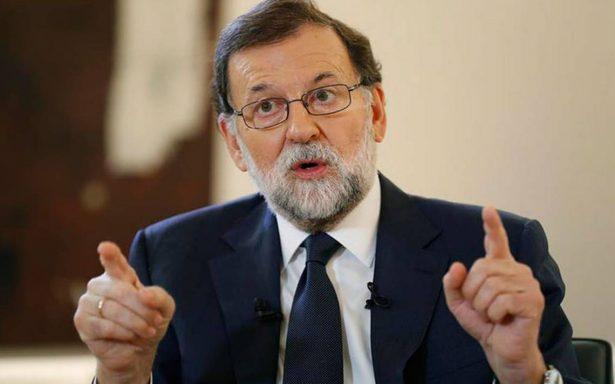 Rajoy pide a líder de Cataluña renunciar al plan independentista y evitar 'males mayores'