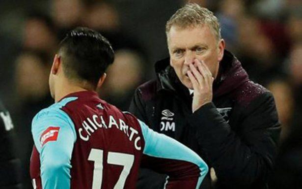 Moyes pretende retener a 'Chicharito' en el West Ham
