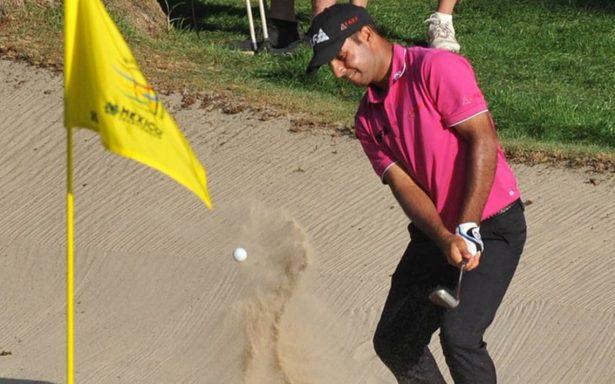 Shubhankar Sharma es líder del torneo del World Golf Championship México