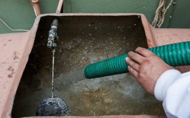 Servicio de agua en la CDMX se restablecerá al 100% este fin de semana