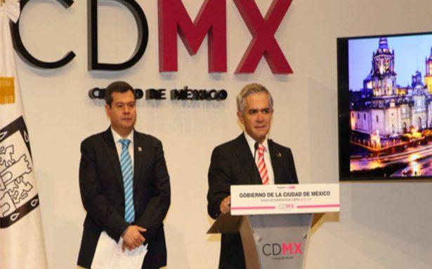Mancera planea construir monorriel para unir el NAICM con la CdMx