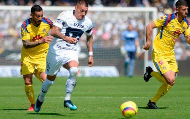 Aguerrido empate en CU: Pumas y América no se hacen daño