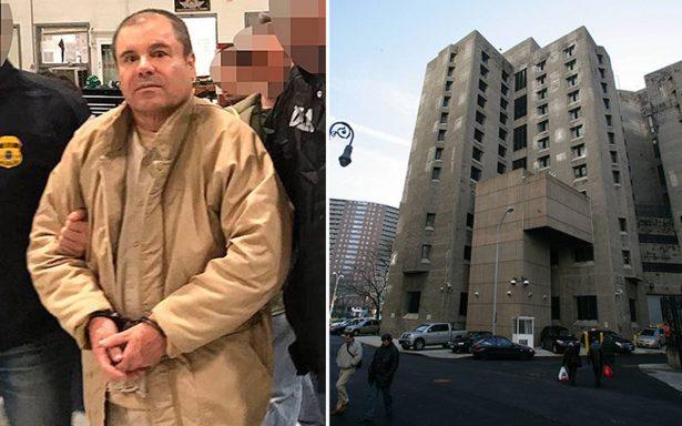 """A un año de su extradición, así es la vida de """"El Chapo"""" en la cárcel de EU"""