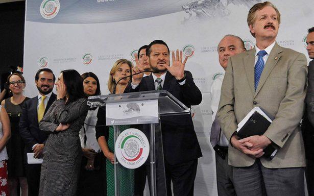 PAN continúa la guerra: pide investigar recursos de SRE, SEP, Sedesol, Sedatu y Presidencia