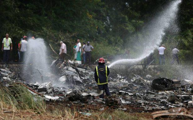 Identifican a cuatro víctimas mexicanas del accidente aéreo en Cuba