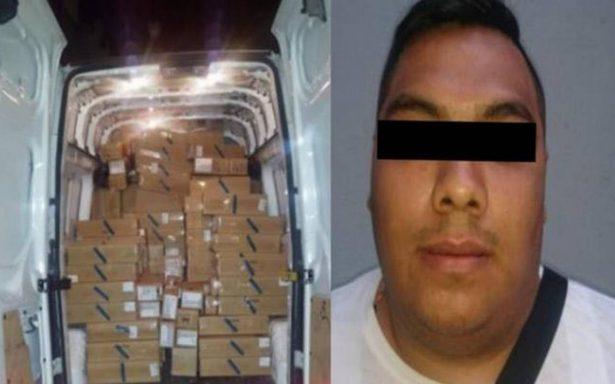Cae en la Morelos hombre que transportaba miles de iPhones robados