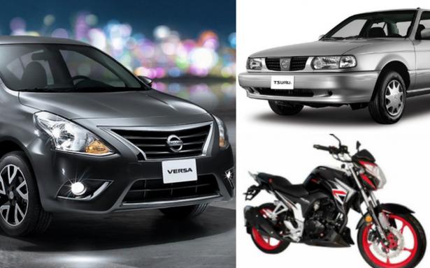 Los vehículos más robados hasta abril: Tsuru, Versa y las motos Italika