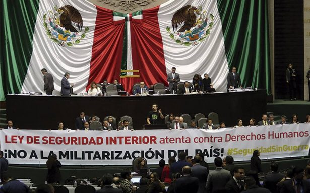 CNDH alista 'acción de inconstitucionalidad' contra Ley de Seguridad