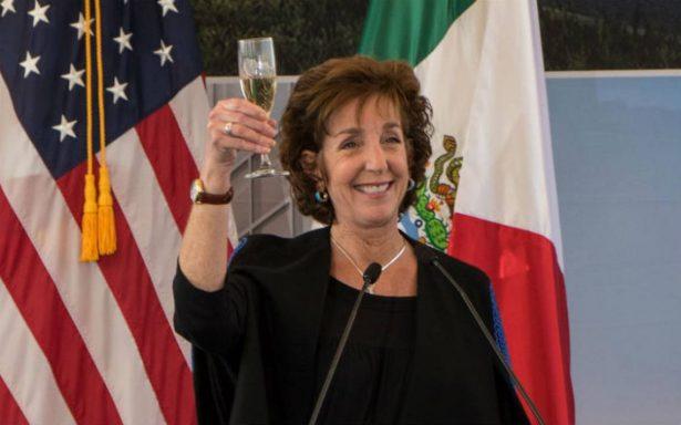 Roberta Jacobson renuncia a la embajada de EU en México; Trump ya tendría prospecto