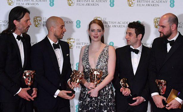 """🏆 """"La La Land"""" arrasa con los BAFTA, se lleva cinco premios"""