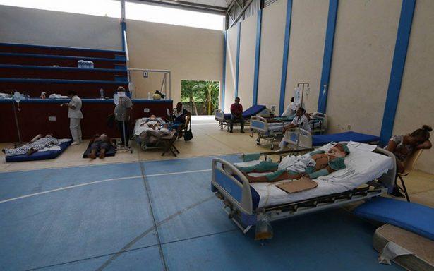 Reparar infraestructura en salud tras sismo costará 4 mil 500 mdp: Narro
