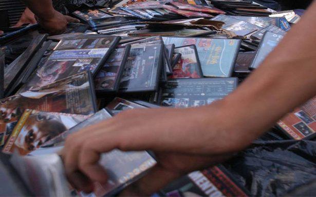 Gastan los mexicanos 20 mil millones de pesos en piratería