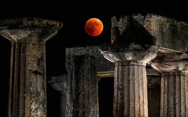 [Video] Así se vio el eclipse de Luna más largo del siglo XXI