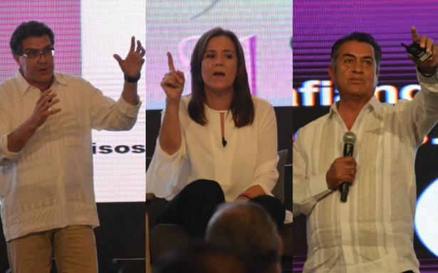 Independientes coinciden en olvidar partidos para combatir corrupción
