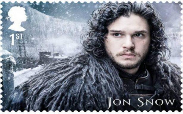 Game of Thrones ya tiene su propia colección de sellos postales