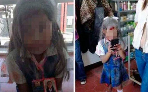 Disfrazan a niña de 'Frida Sofía' y se desata polémica en redes sociales