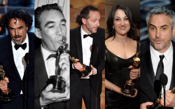 El talento mexicano siempre brilla en los Oscar