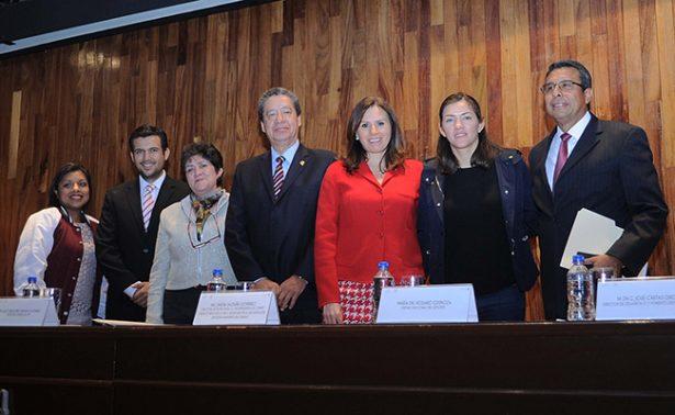 María del Rosario, en la entrega del Premio a lo más Destacado del Deporte