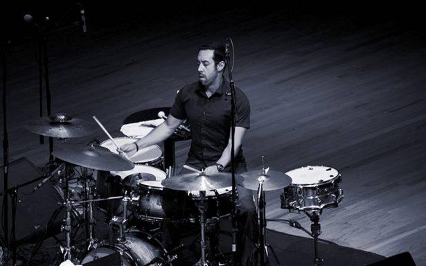 El baterista  Antonio Sánchez se presentará esta noche en el Auditorio Nacional