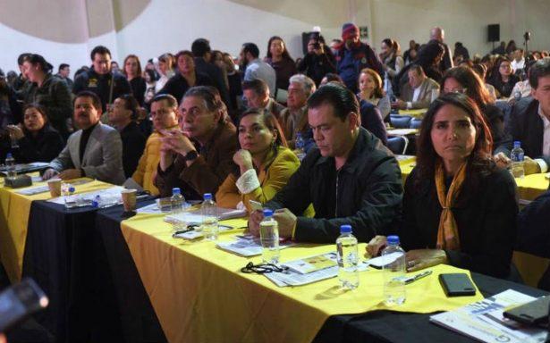 PRD aprueba política de alianzas para cinco estados
