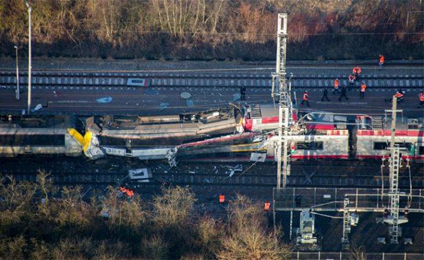 Accidente ferroviario en Luxemburgo causa un muerto y dos heridos