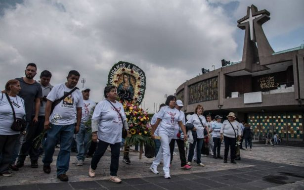 Reportan saldo blanco tras peregrinación de Querétaro a Basílica de Guadalupe