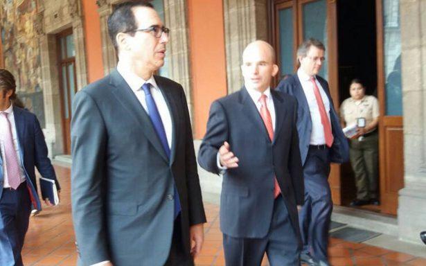 Abren México y EU diálogo sobre seguridad y finanzas