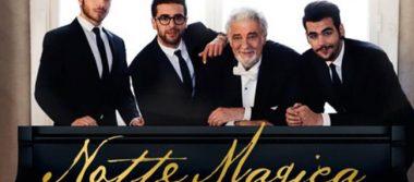 Il Volo lleva al cine a Plácido Domingo