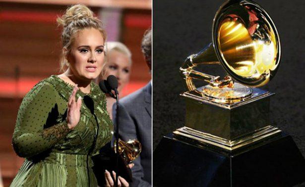 """#Grammys2017 Adele dice """"Hello"""" como la mejor del año en la música"""