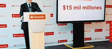 Pese a incertidumbre, Santander apuesta en México con inversión millonaria