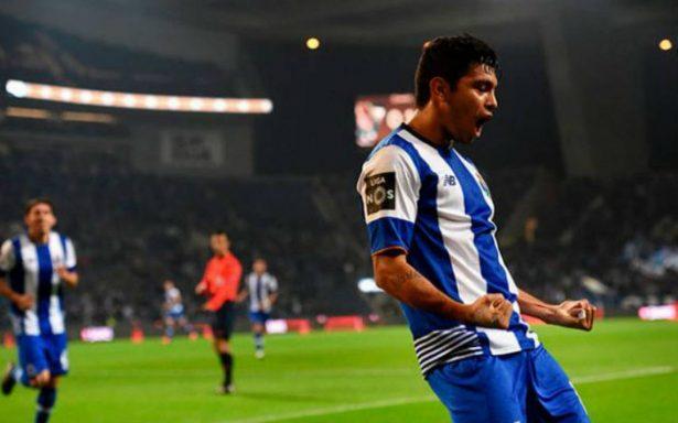 "[Video] ""Tecatito"" Corona marca en la goleada del Porto"