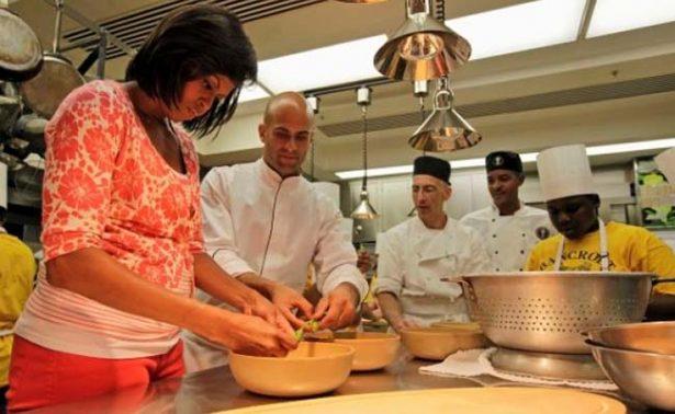 El nuevo trabajo de Michelle Obama será en… ¡Master Chef Jr!