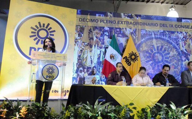 PRD elegirá en consejo nacional electivo su candidato a la Presidencia