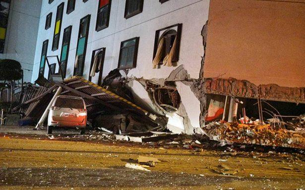 Al menos dos muertos y 150 heridos por terremoto en Taiwán